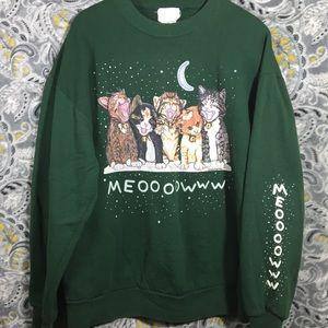 Sweaters - KITTY CREWNECK LONGSLEEVE Extra Large green